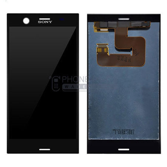 Picture of Xperia XZ1 Complete Lcd with Digitizer in [Black / Grey] [Ori]