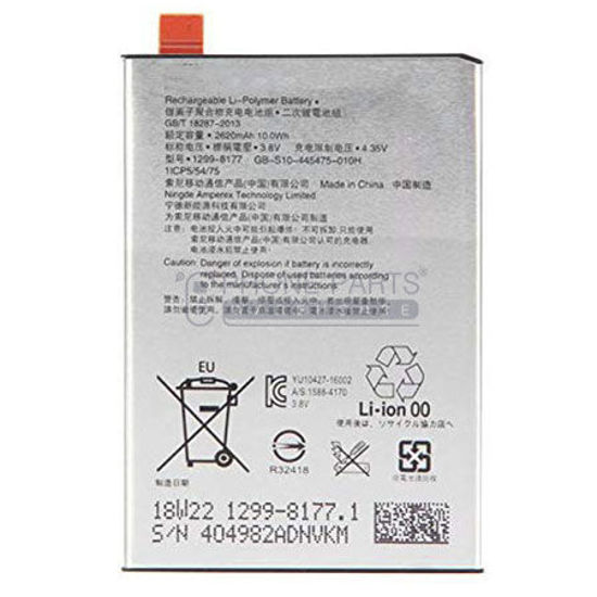 Picture of Xperia X  Battery.