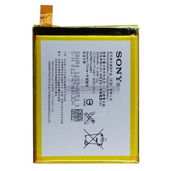 Picture of Xperia Z3 +/ Z4 Battery.