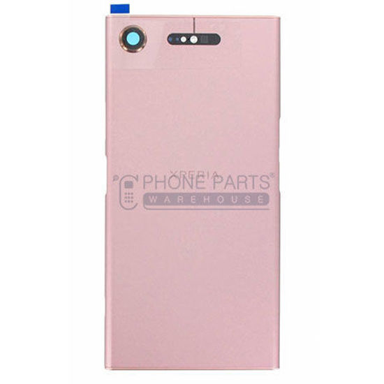Picture of Xperia XZ1 Battery Back Cover With Sticker [Pink]