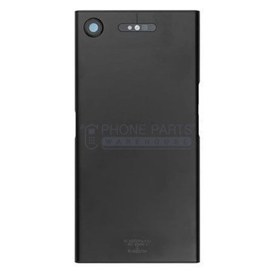 Picture of Xperia XZ1 Battery Back Cover With Sticker [Black]