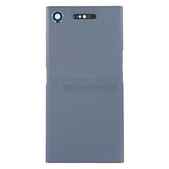 Picture of Xperia XZ1 Battery Back Cover With Sticker [Blue]