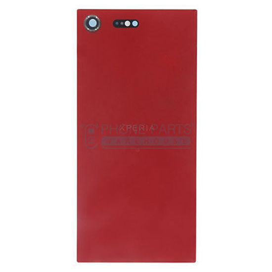 Picture of Xperia XZ Pre. Battery Back Cover With Sticker [Red]