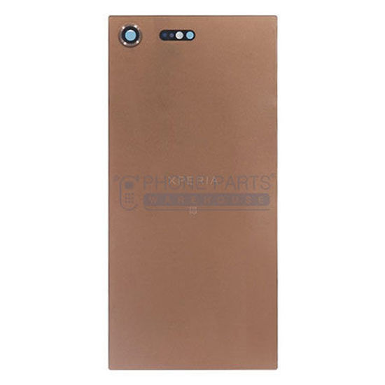 Picture of Xperia XZ Pre. Battery Back Cover With Sticker [Pink]