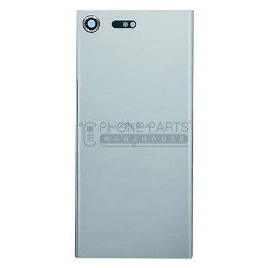 Picture of Xperia XZ Pre. Battery Back Cover With Sticker [Silver]