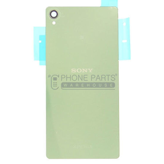Picture of Xperia Z3 Battery Back Cover With Sticker [Green]