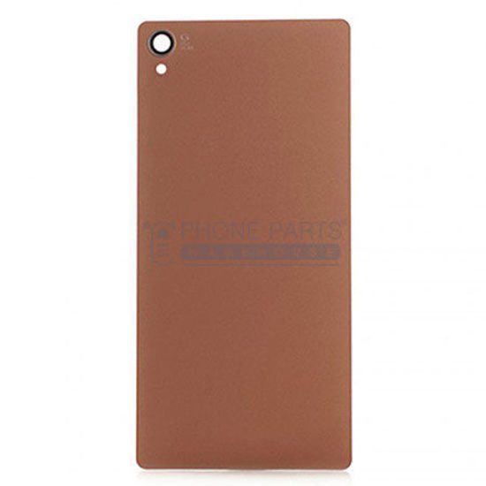 Picture of Xperia Z3 Battery Back Cover With Sticker [Rose Gold]