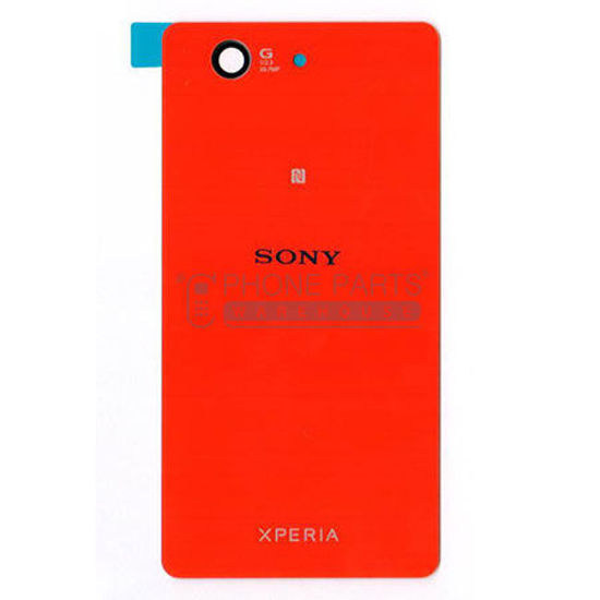 Picture of Xperia Z3 Compact Battery Back Cover With Sticker [Red]
