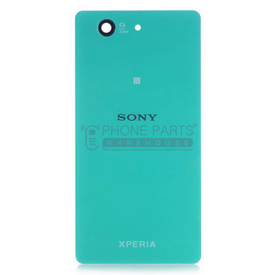 Picture of Xperia Z3 Compact Battery Back Cover With Sticker [Green]