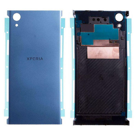 Picture of Xperia XA1 Plus Battery Back Cover With Sticker [Blue]