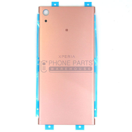 Picture of Xperia XA1 Ultra Battery Back Cover With Sticker [Pink]