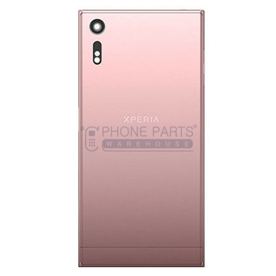 Picture of Xperia XZ Battery Back Cover With Sticker [Pink]