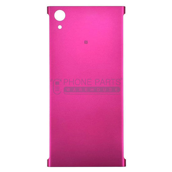 Picture of Xperia XA1 Plus Battery Back Cover With Sticker [Pink]