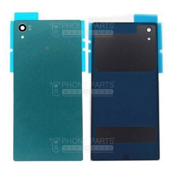 Picture of Xperia Z5 Battery Back Cover With Sticker [Aqua Green]