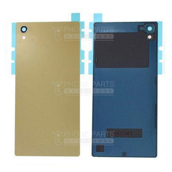 Picture of Xperia Z5 Battery Back Cover With Sticker [Gold]