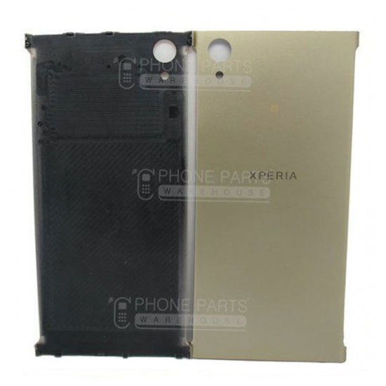 Picture of Xperia XA1 Plus Battery Back Cover With Sticker [Gold]